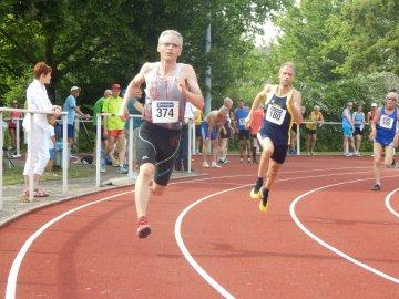 Kai-Steffen Frank beim 400m-Start